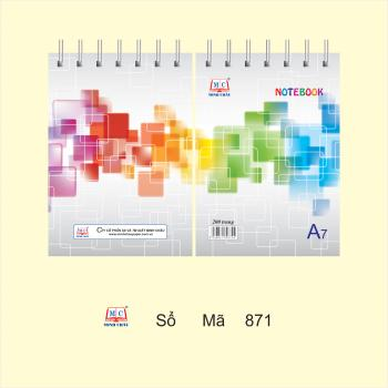 Sổ lò xo A7-A6-A5-A4 (tổng hợp mẫu)