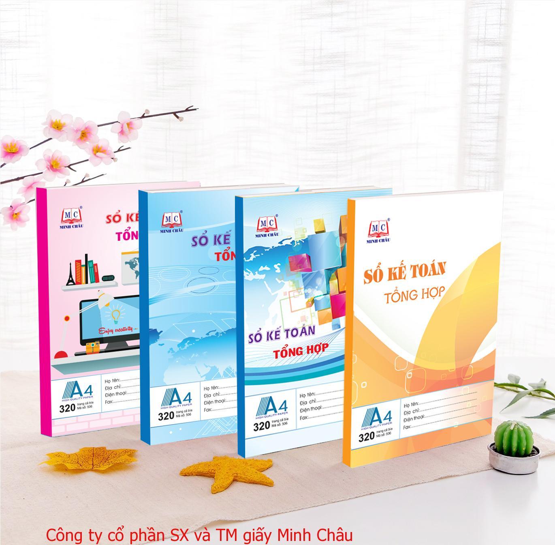 Sổ KTTH A4, đủ số trang - Minh Châu.