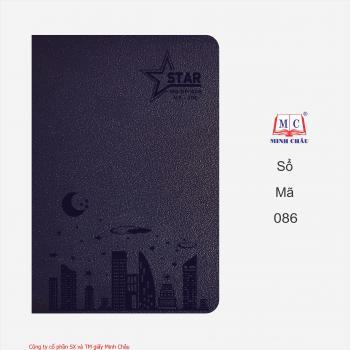 Sổ da cao cấp Star - K8