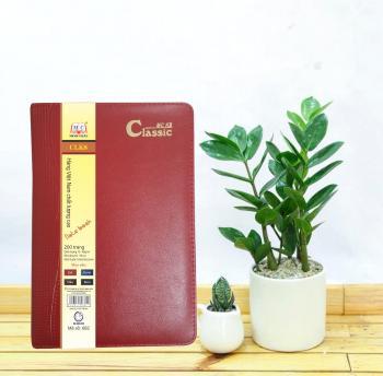 Sổ Classic K8 - Màu mận - Mã 682