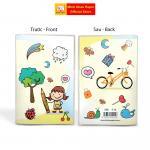 Sổ Minh Châu, bìa nilong, plastic dẻo, trong suốt, chống nước.