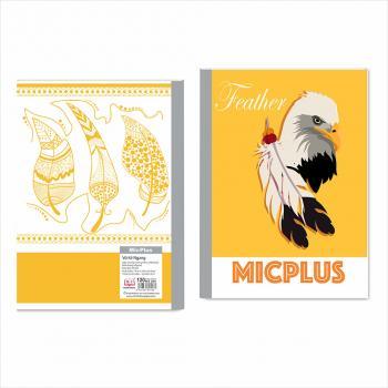 Vở kẻ ngang MicPlus - Mẫu 8