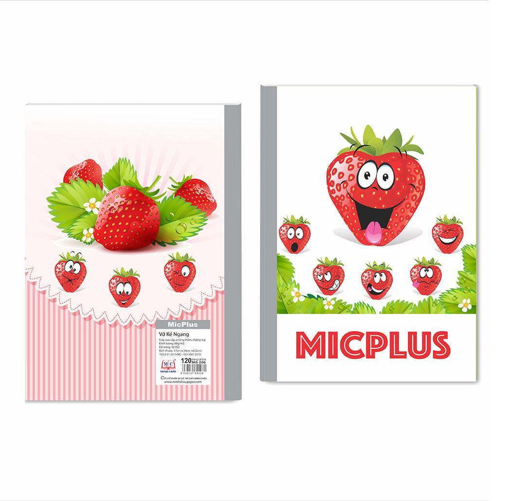 Vở kẻ ngang MicPlus - Mẫu 9