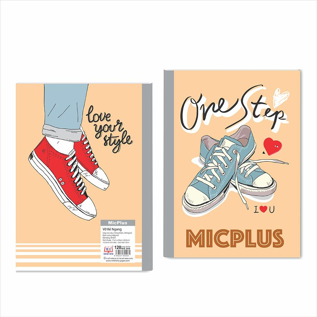 Vở kẻ ngang MicPlus - Mẫu 11