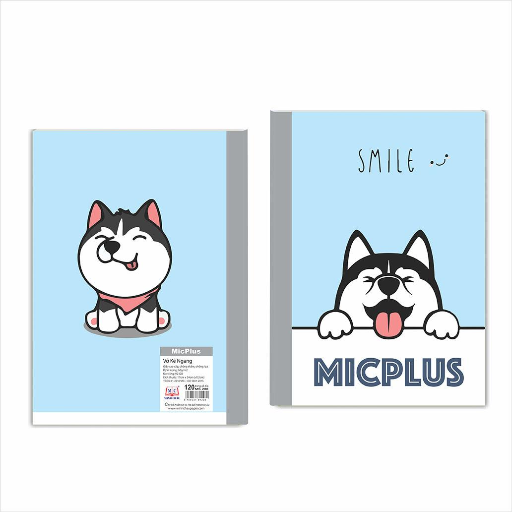 Vở kẻ ngang MicPlus - Mẫu 12