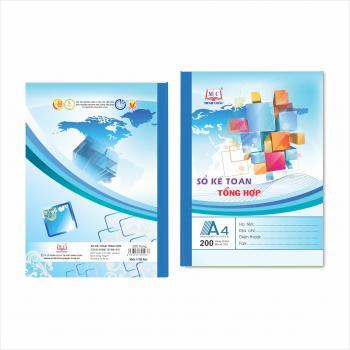 Sổ kế toán tổng hợp - Mẫu 4